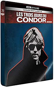 Les 3 Jours du Condor [Édition Limitée SteelBook 4K Ultra HD + Blu-Ray]