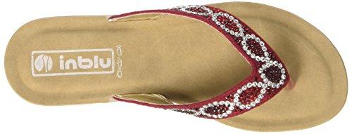 INBLU Damen Desy Flops Rot (Rosso)