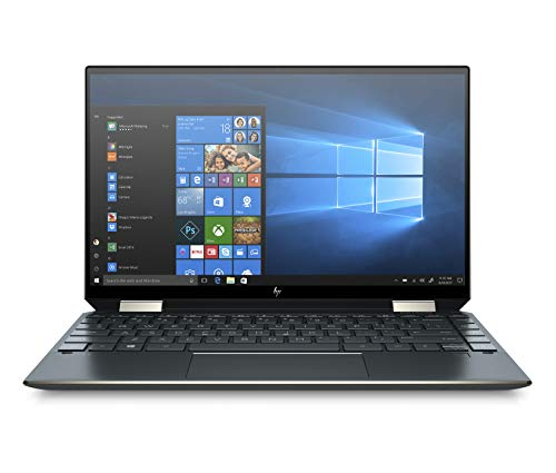HP Spectre x360 13-aw0007nf PC Ultraportable Convertible 13,3'' FHD IPS Bleu foncé (Tactile, Intel® CoreTM i7-1065G7, 8 Go de RAM, SSD 1 To, Carte graphique Intel® Iris® Plus, AZERTY, Windows 10)