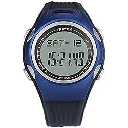 Kobwa(TM) Spovan Multifunction Smart Outdoor Sports Watch Pedometer with Kobwa's Keyring