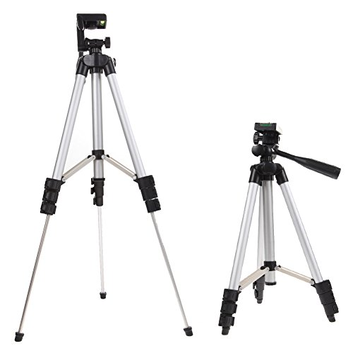 41CrGc9JldL - BEST BUY #1 Professional Camera Tripod Stand Holder For Cell Smart Phone iPhone & Samsung Reviews and price compare uk