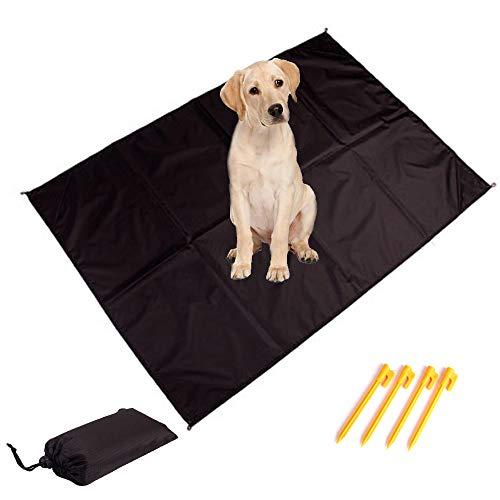 HanryDong Handliche Outdoor Haustiermatte, faltbare Hundeabdeckung für Rücksitz, schmutzdicht, wasserdicht Auto/SUV, waschbare Reiseunterlage, wiederverwendbare Welpen Trainingsmatte, große Größe -