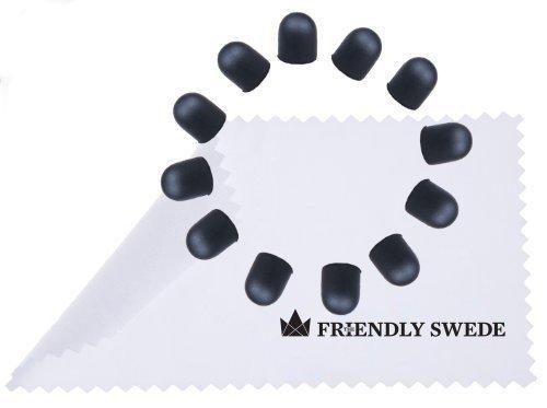 The Friendly Swede - Ersatzspitzen für Touchscreen-Eingabestift Stylus mit dünnerer Spitze (12 spitzen) (Stift-ersatz)