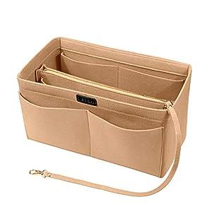 Ropch Handtaschen Organizer, Filz Taschenorganizer Bag in Bag Innentaschen Handtaschenordner mit Abnehmbare…