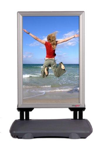Kundenstopper WindPro, DIN A1, Plakatständer