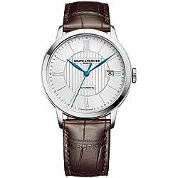 Baume & Mercier Classima Reloj de hombre automático 40mm correa de cuero 10214
