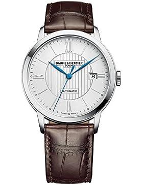 Neue Baume & Mercier Herrenuhr Classima Automatik 40 mm Armbanduhr 10214