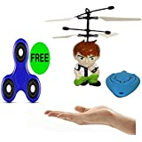 Ben10 Flyer (Free Gift ) Remote Control , Sensors YOU TUBE Vedio Link Provided For More Better Info