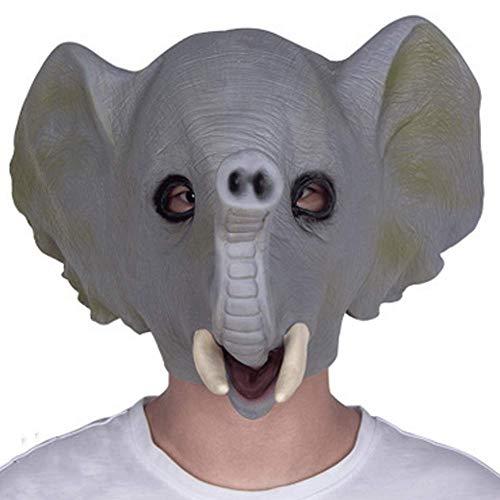 CXXX Máscara Animal cos Elefante látex Sombreros Fiesta Mascarada máscara