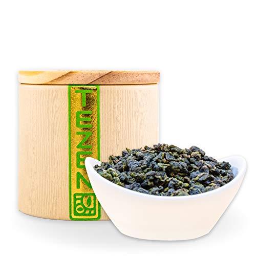 Milch Oolong Tee | Premium Oolong 100 % natürlich, keine Aromen | Hochwertiger Jin Xuan Milky Oolong Tee aus Alishan, Taiwan (80g) -