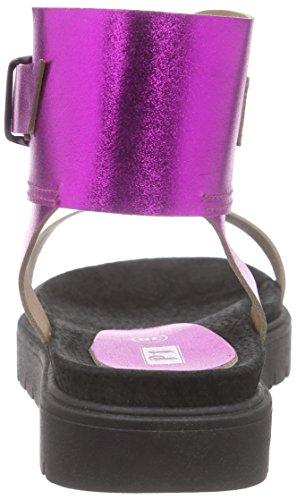 P1 313004, Spartiates femme Violet - Violett (fuxia)