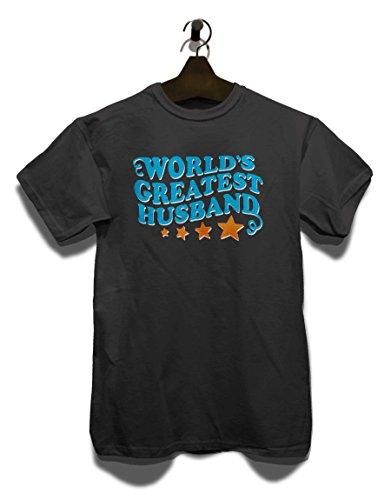 Worlds Greatest Husband T-Shirt Grau
