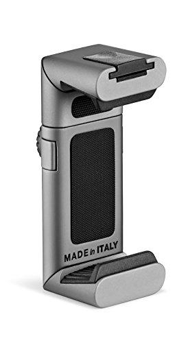 Manfrotto Twist Grip universelle Smartphone-Halterung grau/silber-matt