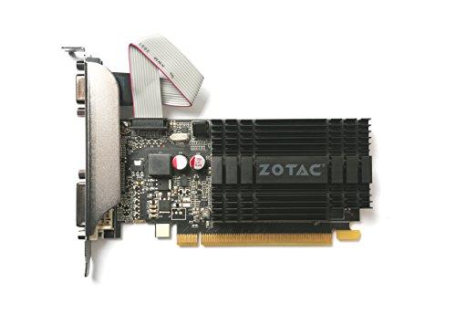 ZOTAC GeForce GT 710 ZONE Edition 2GB DDR3 Dual Link DVI HDMI VGA aktiv - 2