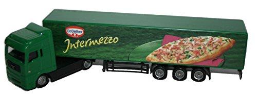 Preisvergleich Produktbild MAN Truck Modell MAN Nutzfahr MAN Trucks AG MAN Nutzfahrzeuge AG 1:32 Maßstab Gewerbe Detailliertes Modell mit Dr. Oetker Decorzeuge AG 1:32 Maßstab Kommerziell Detailliertes Modell mit Dr. Oetker Decor