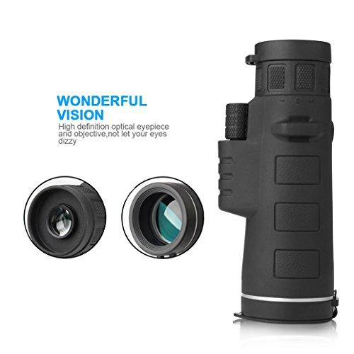 Kimfoxes Monokulare 35×50 Teleskop hohe Leistung Teleskop Zoom Outdoor Wasserdicht tragbaren Hochleistungs Weitwinkel-Objektiv für die Jagd Camping Wandern - 4