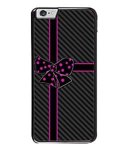 Fuson Designer Back Case Cover for Apple iPhone 6S (Yellow Flower Checks Lines Stars)