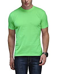 Scott Men's Basic Cotton Round Neck T-shirt - Light Green