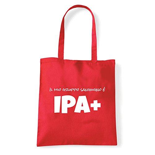 Art T-shirt, Borsa Shoulder IPA+, Shopper, Mare Rosso