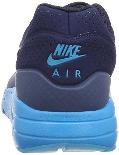 Nike Air Max 1 Ultra Moire, Baskets basses homme Bleu (Midnight Navy/Obsidian/New Slate)