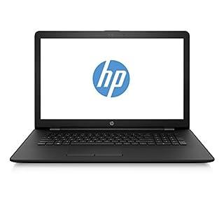 HP 17-bs043ng (17,3 Zoll / HD+) Laptop (Intel Celeron N3060, 4GB RAM, 1TB HDD, Intel HD-Grafikkarte 400, DVD-Writer, FreeDOS 2.0) schwarz