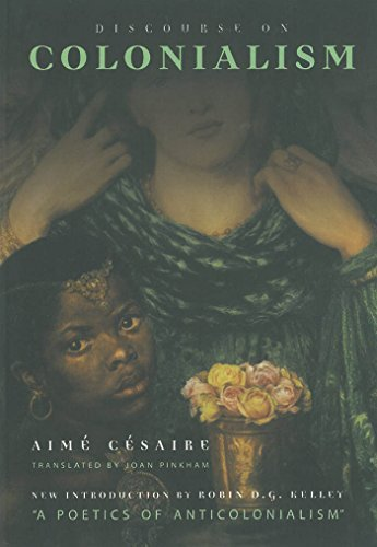 Portada del libro Discourse on Colonialism by Aime Cesaire (2000-03-31)