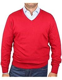 1stAmerican Winter längarmige Pullover mit V-Ausschnitt Herren in  verschieden Farben aus Kaschmir-Mischung f8bf0f4e0b