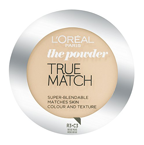 L'Oréal Paris True Match, Cipria, C3 Rose Beige, 9 g
