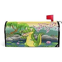 CPYang Mignon Petit Crocodile Sakura magnétique pour boîte aux Lettres pour  Home Garden Yard Deco Makeover 90a4d936b82