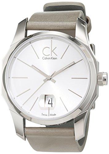 Calvin Klein Herren-Armbanduhr Analog Quarz Leder K7741120