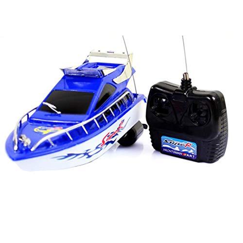 LouiseEvel215 RC Super Mini Elektrische Fernbedienung High Speed   Boat Ship 4-CH Elektroboot Spiel Spielzeug Geburtstagsgeschenk Kind Kinder Spielzeug