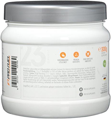 BCAA Pulver | Essentielle Aminosäuren im Verhältnis 2:1:1 | DAS ORIGINAL von ProFuel | Unfassbar lecker, erfrischend und MADE IN GERMANY | 300g - ICE TEA PEACH (Eistee Pfirsich)