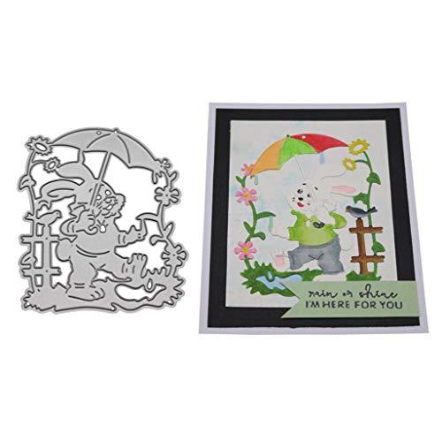Yolmook Stanzschablone aus Metall für DIY Scrapbooking Album Papier Karte Dekoration Basteln (A,B,C,D,E,F,G, H,I, 9,7 x 6,7 cm), I, 7.2X 6CM