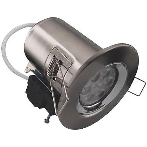 Kosnic KFDL7.5DIM/ FS65-BN 7.5 Watt LED Dimmable Brushed Nickel Fire