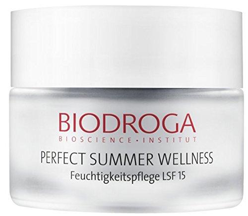 Sommer Haut Feuchtigkeitspflege (Biodroga Perfect Summer Wellness LSF15 50 ml)