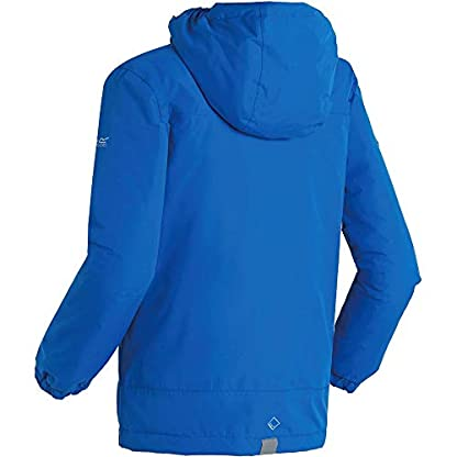 Regatta Children's Hurdle Ii Waterproof Insulated Hooded Jacket 5