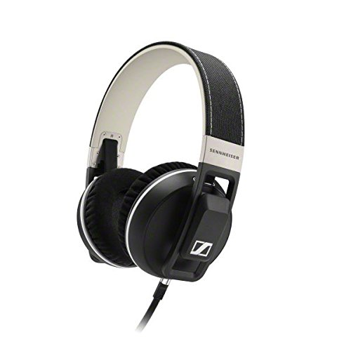 Sennheiser URBANITE XL - Auriculares de diadema cerrados (compatible iPhone/iPod/iPad), negro
