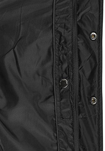 SOLID Safi Herren Steppjacke Jacke mit Stehkragen aus leicht glänzendem und hochwertigem Material Black (9000)
