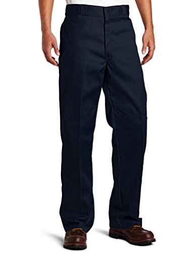 Dickies Herren Sporthose Streetwear Male Pants Double-Knee Work blau (Dark Navy) 38/34 (Herren Pant Knee Double Work)
