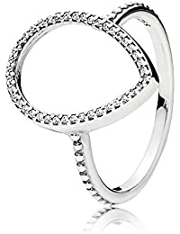 Pandora Women Silver Promise Ring - 196237-56