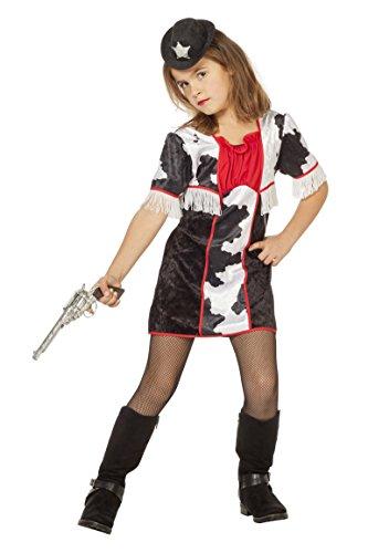 Girl Kostüm Cow - Wilbers Cowgirl Mädchen Kostüm Cow Girl Gr. 152 cm - Western Girl