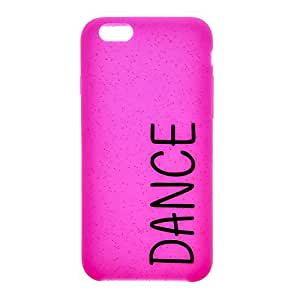 Claire's Fille-Rose-Glitter Dance Housse pour Apple Iphone 6–Rose