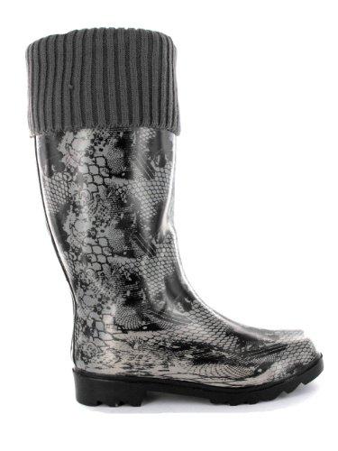 Beck Noblesse, Stivali donna grigio (Gris - Grau/grau)