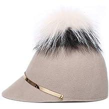 Amazon.es  sombreros de copa - Beige 0ab89eb4507
