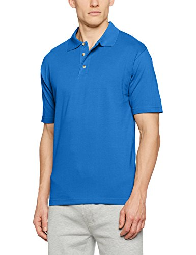 James & Nicholson Herren Poloshirt Polo-Piqué Medium Blau (Royal)