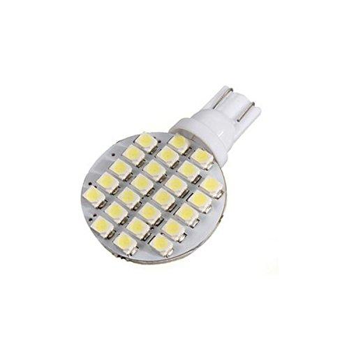 MagiDeal 10x T10 24 SMD LED Lampe Birne Glühbirne Glühlampe 4,8W Warmweiß (Spot Powersport)