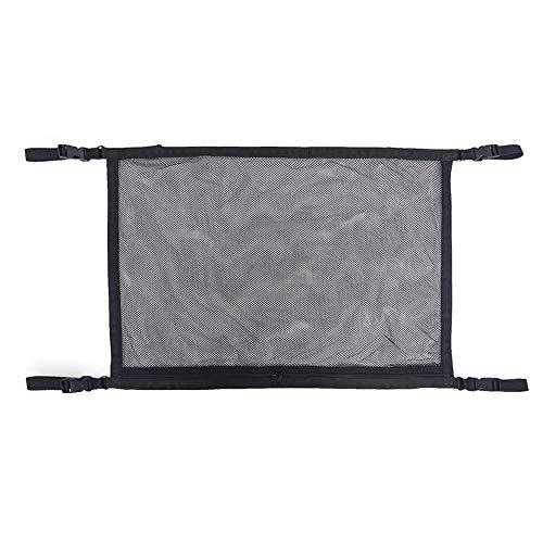 CARTEY Dach Aufbewahrungstasche Auto Decke Mesh Bag Einfache universelle atmungsaktive einstellbare Kleinigkeiten Aufbewahrungstasche - Mesh-dach