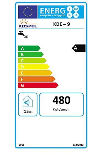 Elektronischer Durchlauferhitzer 9 kW 400 V 3~ Kospel KDE-9 - NEU