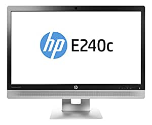 "HP EliteDisplay E240c 23.8"" Full HD IPS Mat Noir, Argent écran plat de PC - écrans plats de PC (60,5 cm (23.8""), 250 cd/m², 1920 x 1080 pixels, 7 ms, LED, Full HD)"