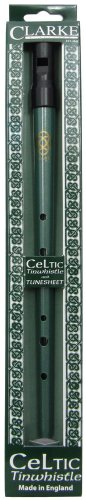 Traditional Clarke Celtic Tin Whistle